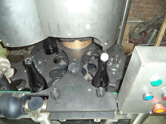 Укупорочная машина KHS, для шампанского