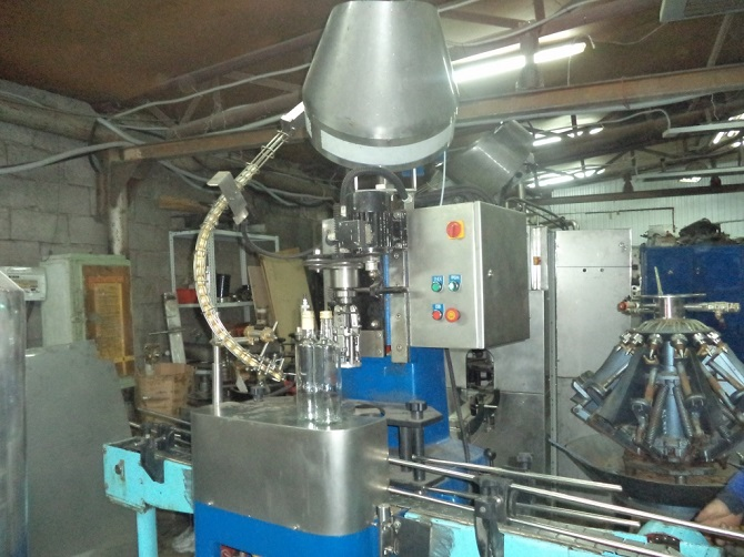 Восстановление укупорочного автомата Bertolaso