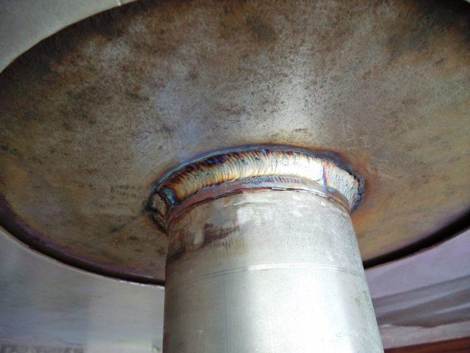 Ремонт барабана вакуумного фильтра