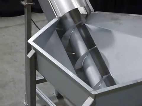Винтовой (шнековый) конвейер