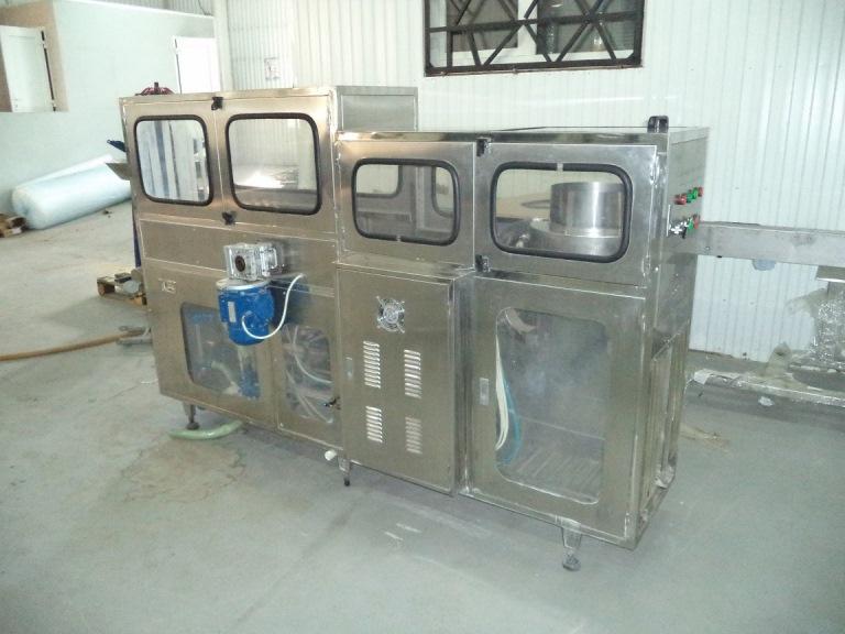 Триблок розлива воды в 19 литровую тару Angel XG-100 100BPH