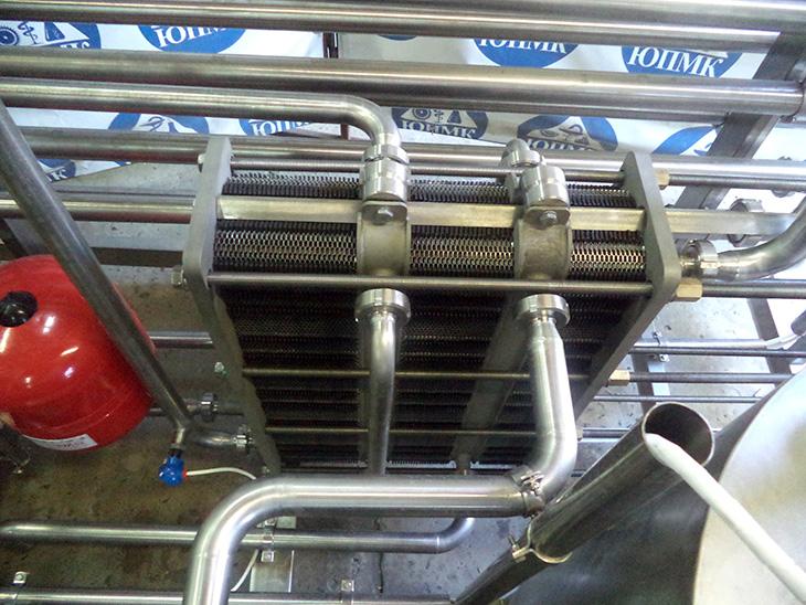 Изготовлена автоматическая пастеризационно–охладительная установка «ИВА 5000»