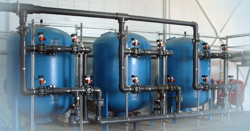 Фильтры обезжелезивания и деманганации воды