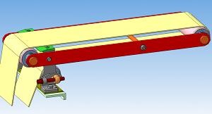 Натяжка ленты на транспортере система зажигания транспортера