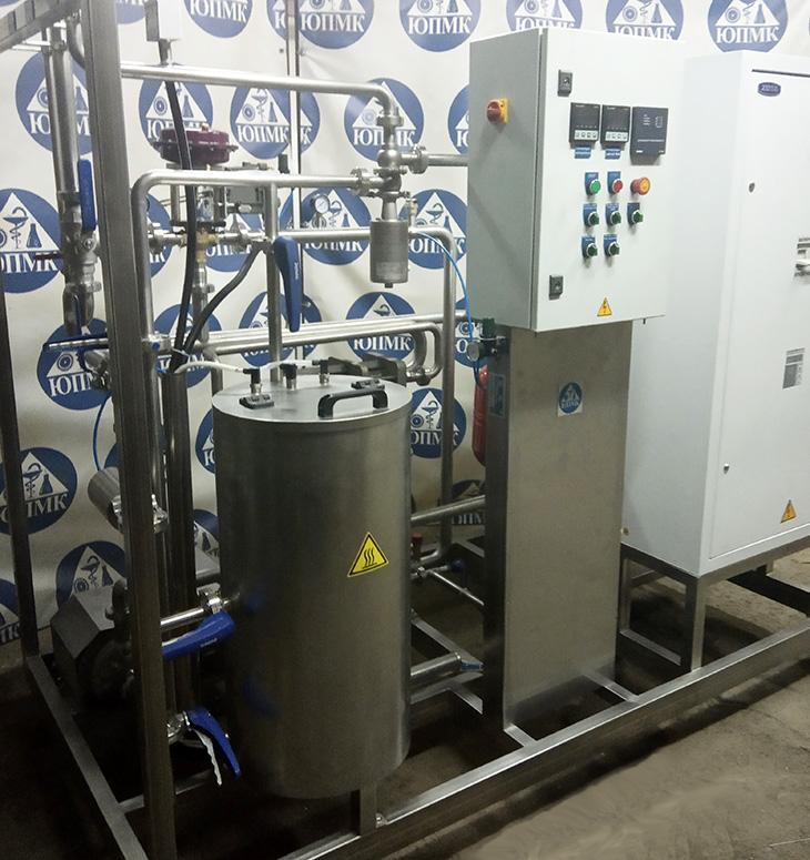 Пастеризационно-охладительная установка «ИВА-3000»