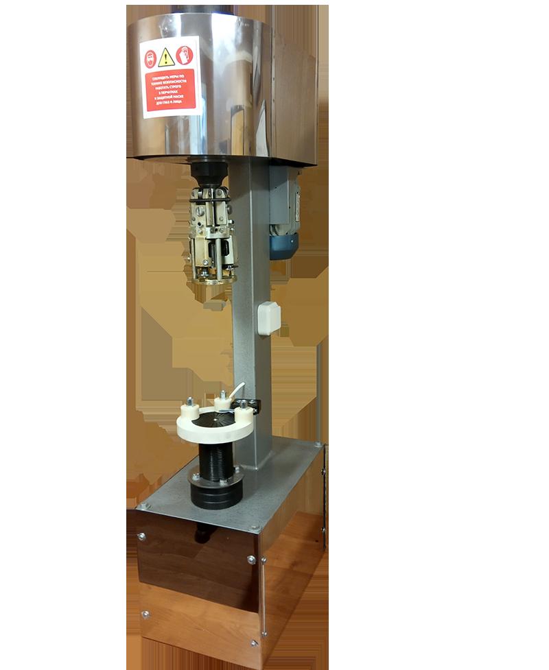 Ручное полуавтоматическое устройство для укупоривания бутылок с газированной жидкостью